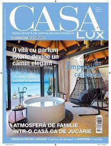 A apărut ediția de iulie a revistei Casa Lux!