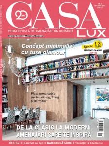 A aparut editia din ianuarie a revistei CasaLux!