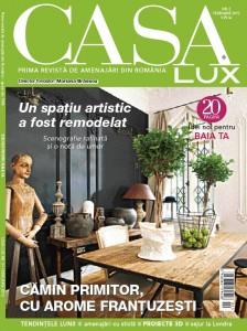 A apărut ediția din februarie a revistei CasaLux!