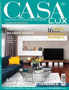 A apărut ediția de martie a revistei Casa Lux!