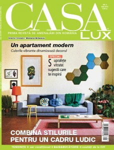 A apărut ediția de mai a revistei Casa Lux!