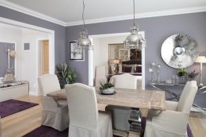 Invitație într-un apartament modern cu tușe homey (I)