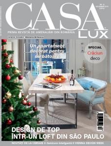 A apărut CASA LUX, ediția decembrie 2015!