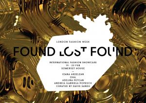 FOUND.LOST.FOUND – O spectaculoasă tradiție regăsită, la Săptămâna Modei de la Londra