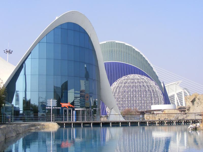 orasul artelor si stiintelor din Valencia