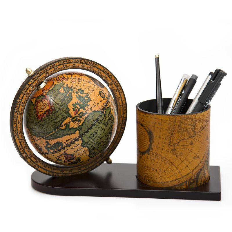 Suport pentru ustensile de scris. Foto: www.luxurygifts.ro