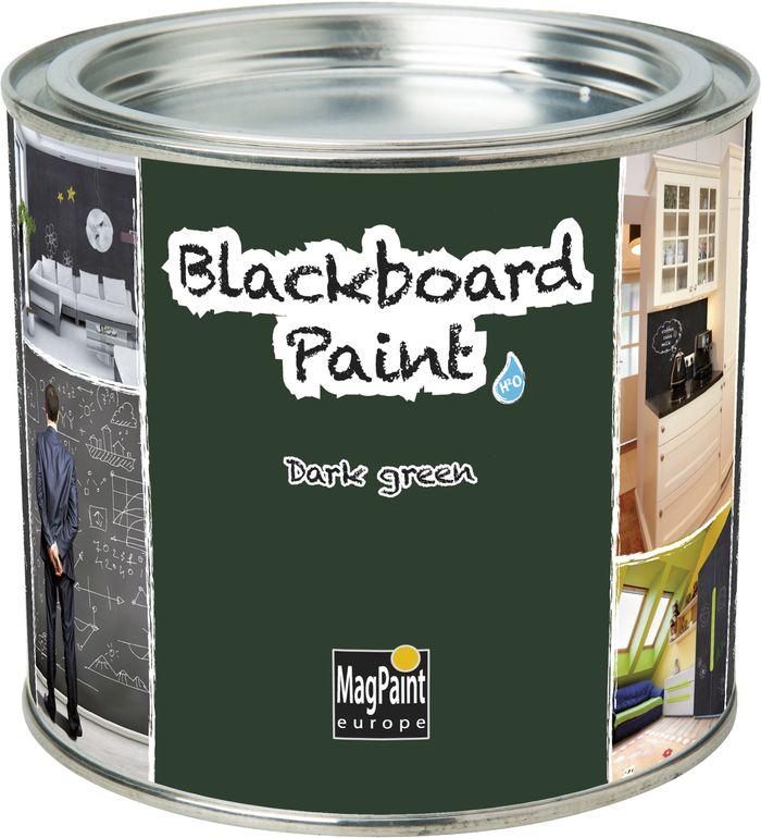 Transformă în tablă de scris orice suprafață cu ajutorul vopselei speciale Blackboard Paint MagPaint. Finisajul în diverse culori este rezistent la zgâriere, se poate spăla periodic cu apă și săpun, iar mesajele se pot scrie cu cretă sau marker cu cretă lichidă. Foto: www.vopsea-spray.ro