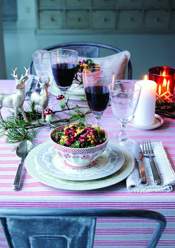 Bolul de supă Stephanie și setul de tacâmuri stilate. Foto: Greengate