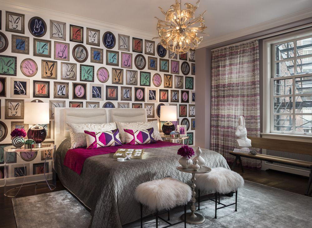 Modernism american dormitor