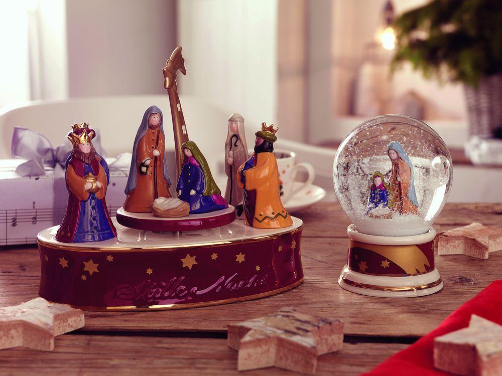 decorațiuni și aranjamente de Crăciun, cutie muzicala