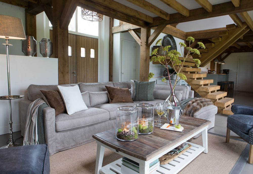 living cosy materiale naturale