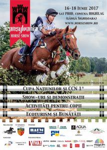 (P) 95 de călăreți din 15 țări participă la Transylvania Horse Show 2017!