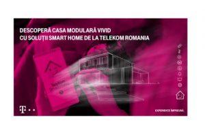 Descoperă casa modulară Vivid cu soluţii Smart Home de la Telekom