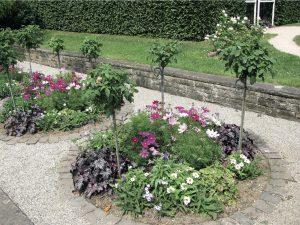 Straturi circulare în grădină