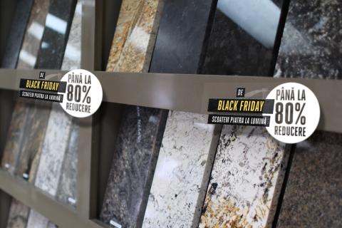 BLACK FRIDAY PIATRAONLINE – 100 tone de piatră naturală, cu până la 80% reducere