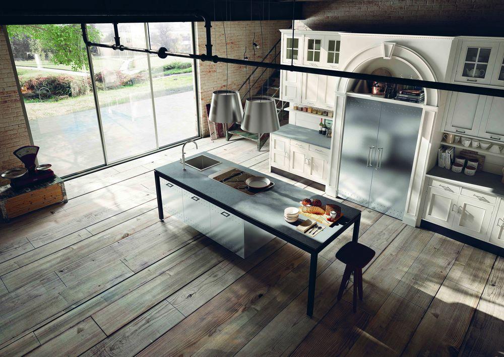 bucătărie eclectică Montserrat Marchi Cucine