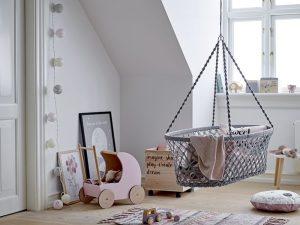 camera bebelușului coș suspendat