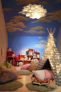 camera copilului albastra
