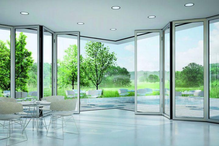 Amenajări vitrate cu profile din aluminiu
