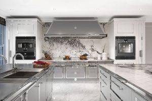 bucătărie high-class din oțel