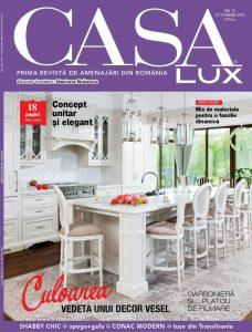 A apărut CASA LUX, ediția de octombrie