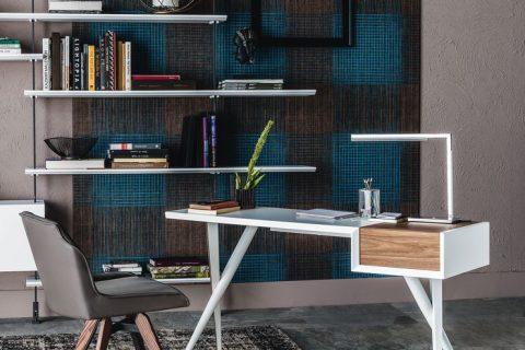 Biroul de acasă: relaxant și lejer