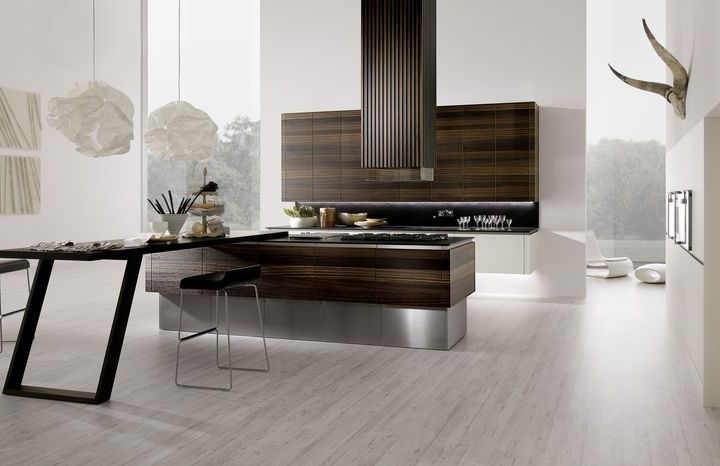 Bucătărie premium în stil ultramodern