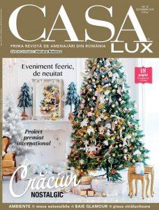 A apărut CASA LUX, ediția de decembrie