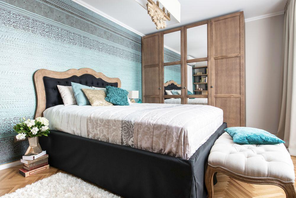 dormitor stil Mid-Century