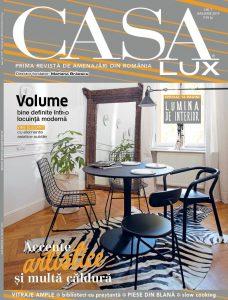 A apărut CASA LUX, ediția de ianuarie