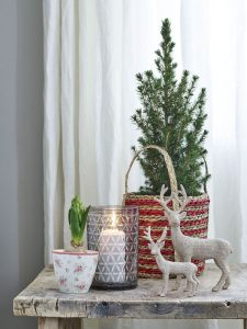 masa de Crăciun aranjament festiv