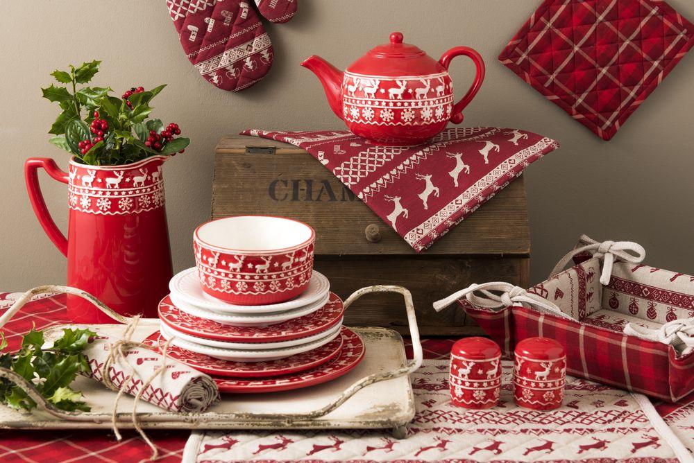 veselă masa de Crăciun