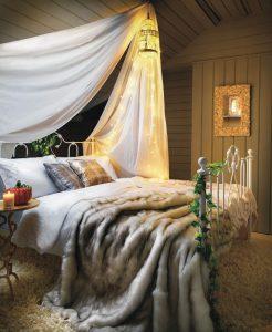 Amenajare relaxantă pentru un dormitor cosy