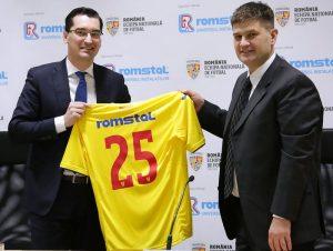 (P) ROMSTAL devine sponsor al echipei naționale de fotbal a României