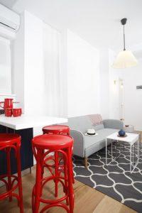 Apartament mic și cochet, în locul unui coafor