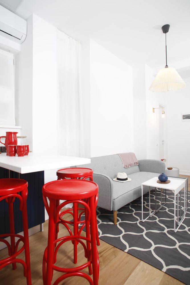 Apartament mic, în stil nordic