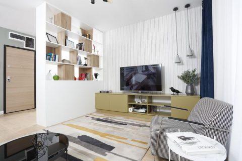 Volume bine definite într-o locuință modernă