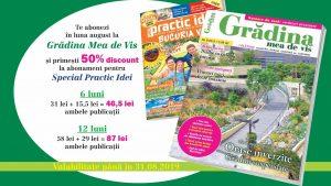 Abonează-te la Grădina mea de vis și primești 50% reducere la Special Practic Idei!